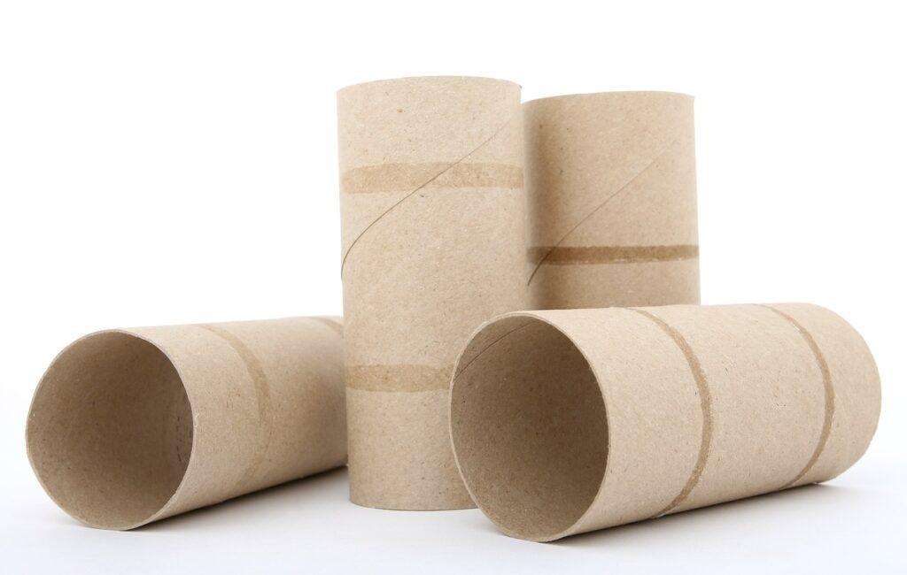 cartón papel higiénico